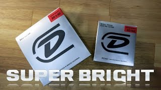 dunlop super bright strings bass and guitar string review