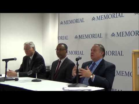 Memorial Signs Letter of Intent with Catholic Health Initiatives Press Conference