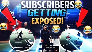 TRYHARD SUBSCRIBERS EXPOSED LOL ? | NBA 2K17 MYPARK | 6'7 PG GOD | TRASH TALKERS EXPOSED