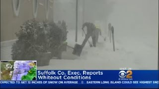 Snow Slams Long Island