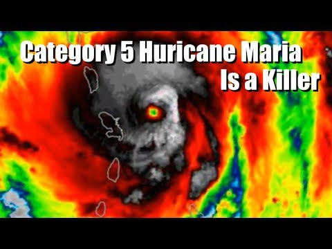 Maria is a Category 5 Hurricane Monster & Jose is stationary off the East Coast