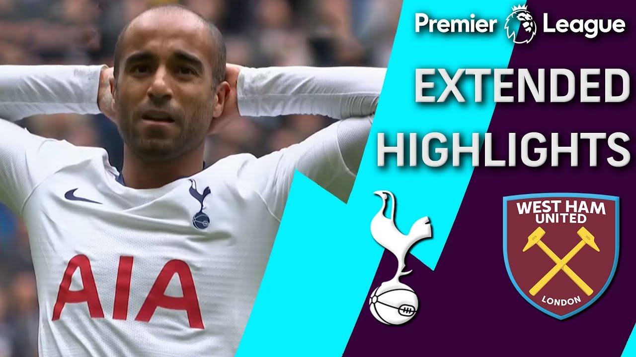West Ham v. Tottenham | PREMIER LEAGUE EXTENDED HIGHLIGHTS | 4/27/19 | NBC Sports