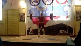 145 кг толчок классический, 2010 год
