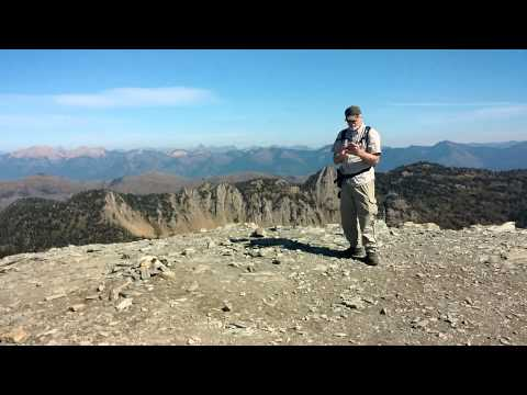 Mt. Aeneas, Jewel Basin, Montana, Sept. 23, 2015
