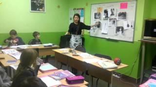 Фрагмент урока английского языка в детской группе.7-8 продолжающие