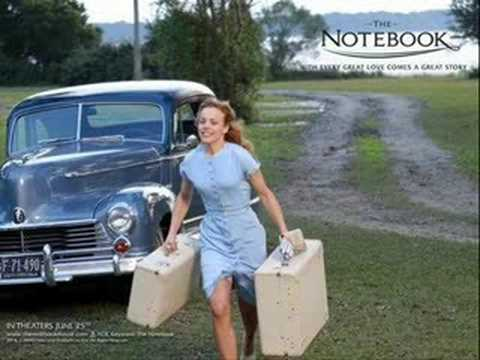 The notebook  if you leave me now