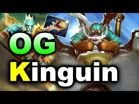 Clip OG vs KINGUIN - Rapier Megas Siege - EU Starladder Minor DOTA 2 hay và hót nhất