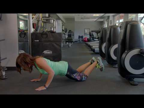 How to Do a Modified Push Up With a Plus