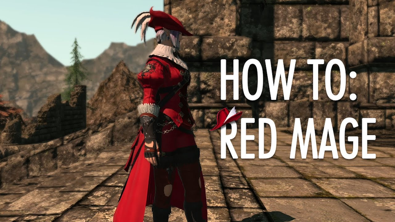 How To Red Mage FFXIV Stormblood RDM Guide YouTube