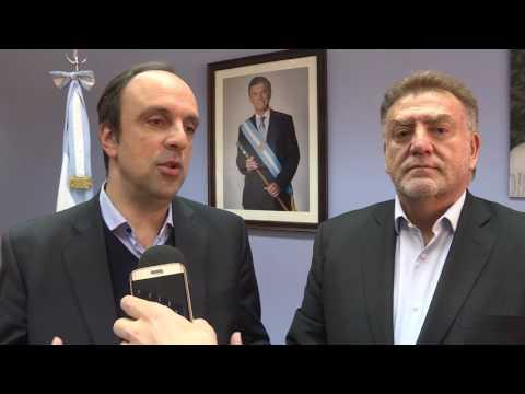José Corral firmó un convenio con Nación por $ 105 millones para obras en Barranquitas