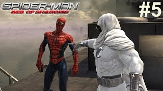 Spider-Man Web Of Shadows Gameplay #5 [Moon Knight Is Lazy AF!!]