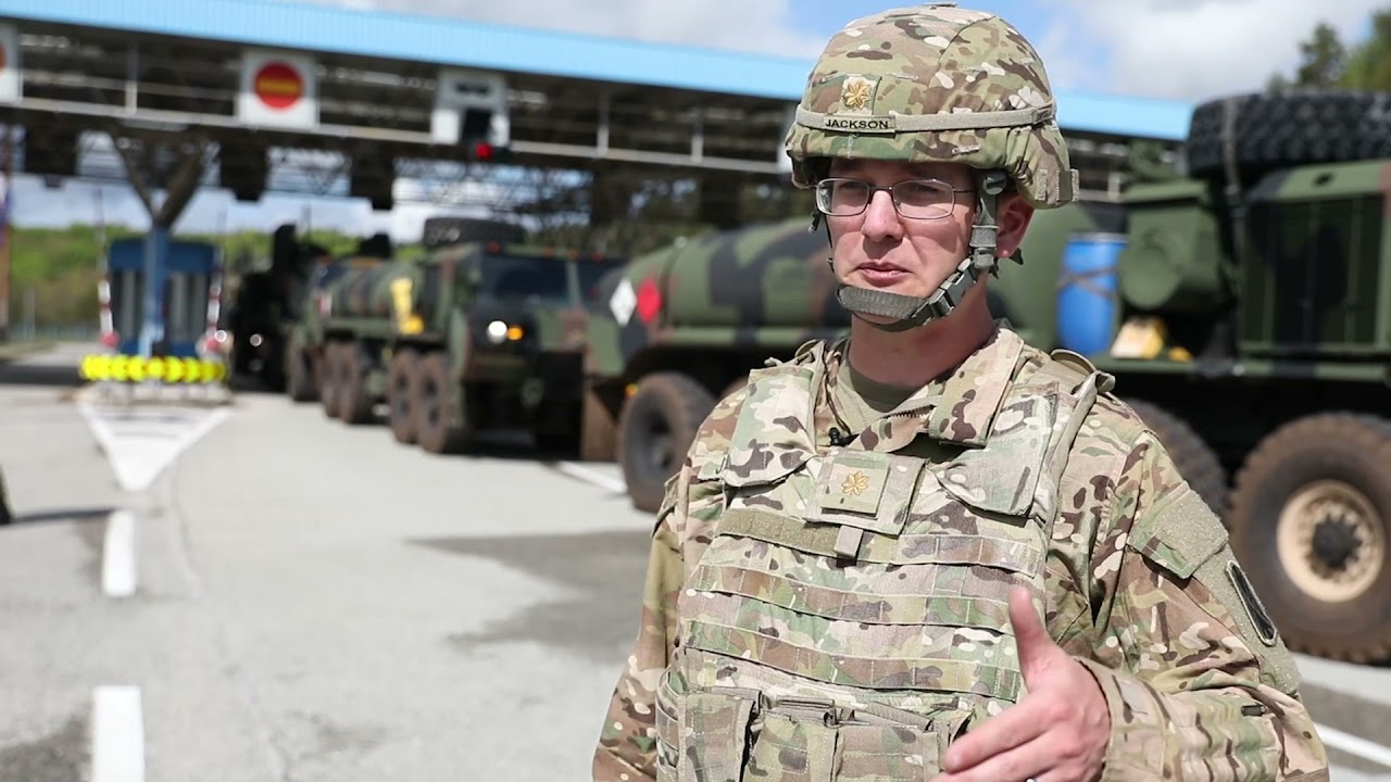 US Military News • U.S. Patriots Missile Systems Cross Border to Croatia May 15, 2021