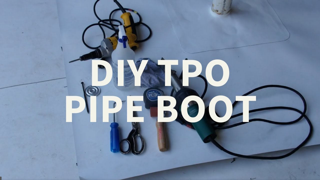 How To Install A Tpo Pipe Boot Youtube