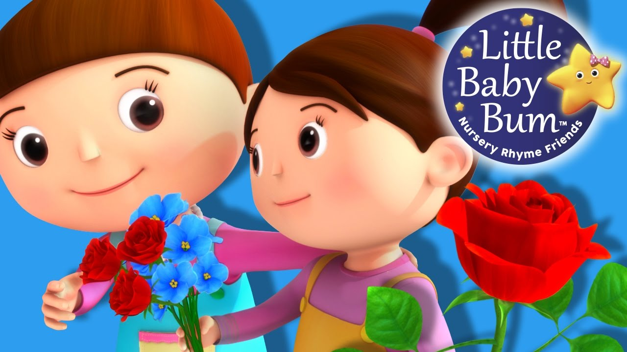 Roses Are Red Song Nursery Rhymes Original Version By Littlebabybum