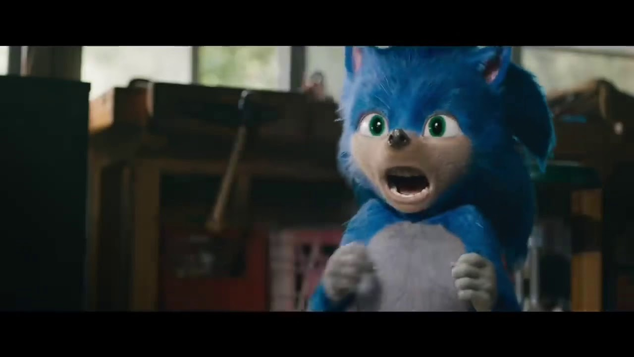 Sonic The Hedgehog Movie Trailer Sonic Screams For Ten Minutes Youtube