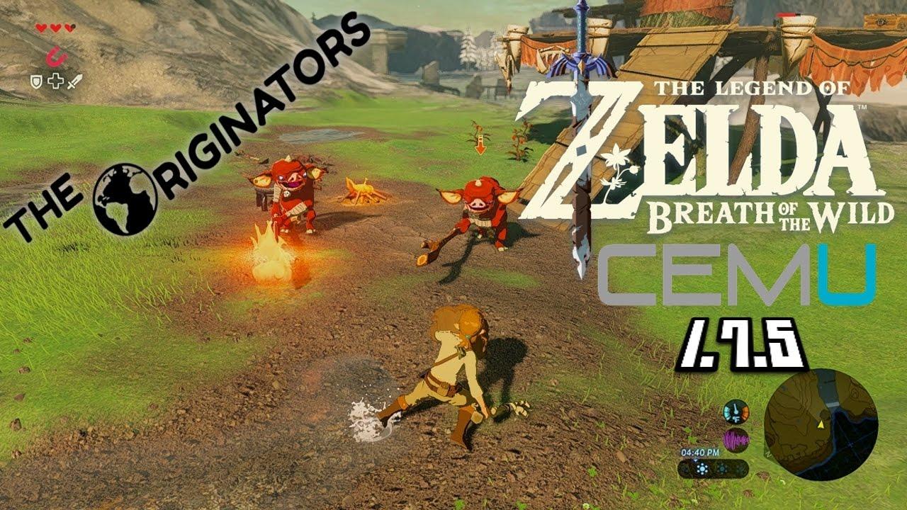 Cemu 1 7 5 Playable The Legend Of Zelda The Wind Waker