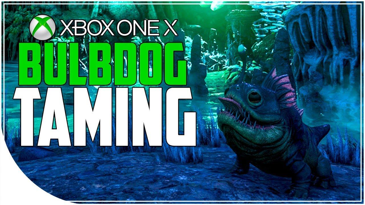 Ark aberration xbox one x gameplay 1 bulbdog taming for Plant x ark aberration