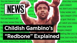 Looking Back At Childish Gambino S Redbone Song Stories