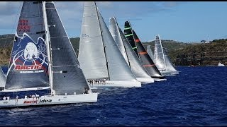 2014 RORC Caribbean 600, start and first leg highlights