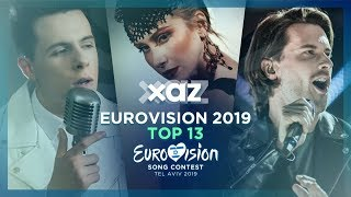 Eurovision 2019 Top 13 - NEW
