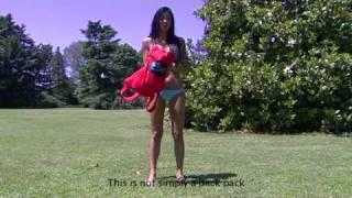 Veronica Ciardi video completo in bodypainting per campagna pubblicitaria hifun-hi-Sun