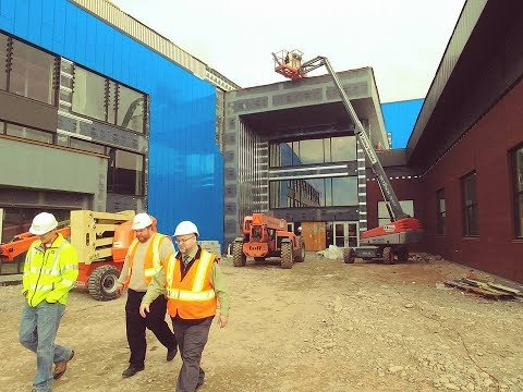 Construction on new Thunder Ridge High School in Idaho Falls continues