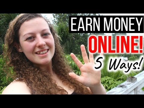 5 EASY WAYS TO MAKE MONEY ONLINE & TRAVEL THE WORLD!
