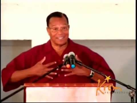 PT-2 Belize Social/Political challenge-Farrakhan address prison inmates in Belize