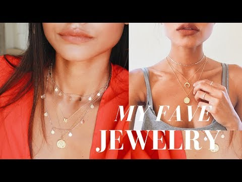 MY FAVORITE JEWELRY PIECES! HIGHLY REQUESTED