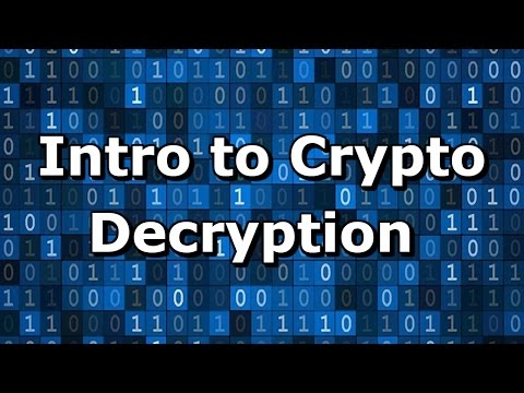 Intro to Cryptography Hands-on - Decryption Tutorial