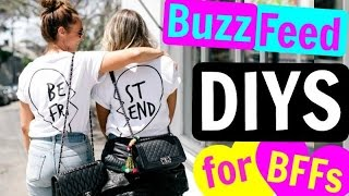BuzzFeed DIYS for BFFs | CHEAP & EASY!