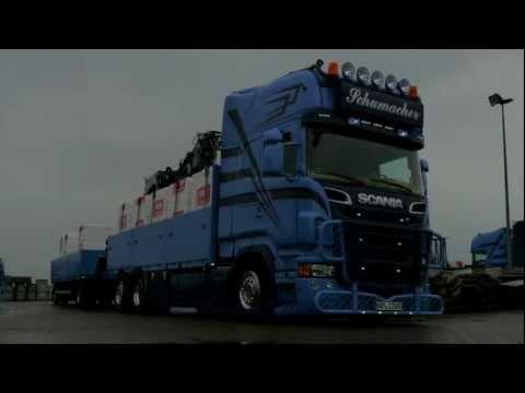 Spedition Schumacher Scania V8