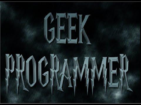 Geek Programmer intro