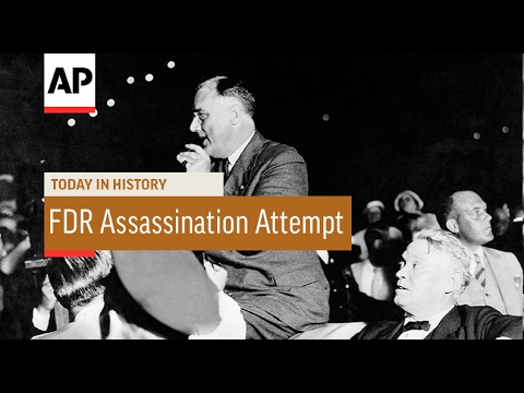 Assassination Attempt on FDR - 1933 | Today In History | 15 Feb 17