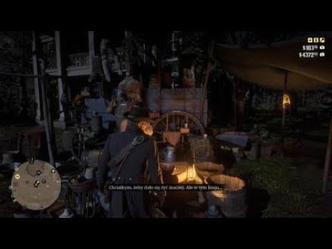 Red Dead Redemption 2 #202 Zwiedzanie, torby na rożne