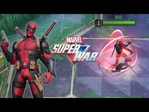 MARVEL Super War MOBA: Deadpool Gameplay (CBT)