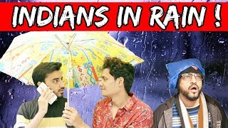 Indians During Rain (FUNNY MONSOON) l HYDERABADI COMEDY l The Baigan Vines
