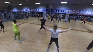Тай-бо боевая аэробика. Cardio Kick Boxing (интенсивная тренировка) | Рома