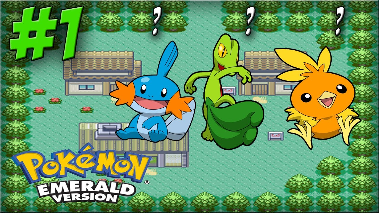 pokemon emerald walkthrough part 1 the new hoenn region