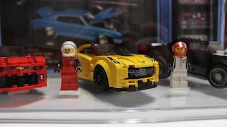 Video Lego Speed Champions American Muscle Cars Display Case Assembly and Set up! download MP3, 3GP, MP4, WEBM, AVI, FLV Juli 2018