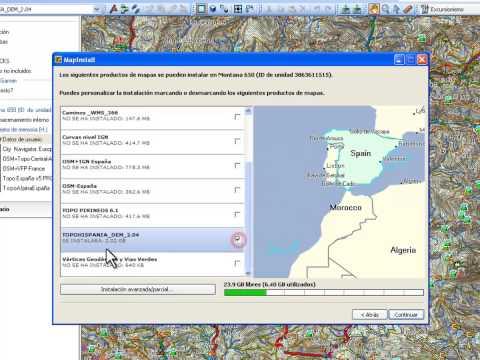 BaseCamp 8: Instalar TopoHispania En Garmin.