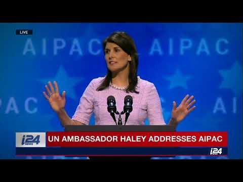 FULL: US ambassador Nikki Haley addresses AIPAC 2018