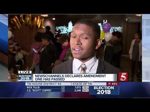 Amendment 1 passes in Davidson County
