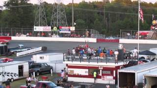 Mini Stock Race at Ace Speedway 7/4/14