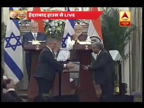 India, Israel sign 9 MoUs to boost bilateral ties