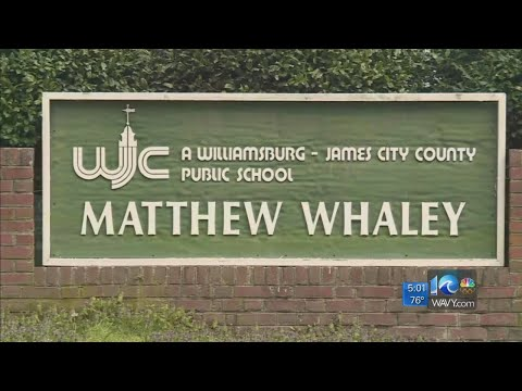 A volunteer at Matthew Whaley Elementary School tested positive for COVID-19