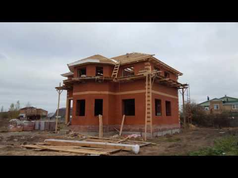 видео: Строительство дома от фундамента до крыши