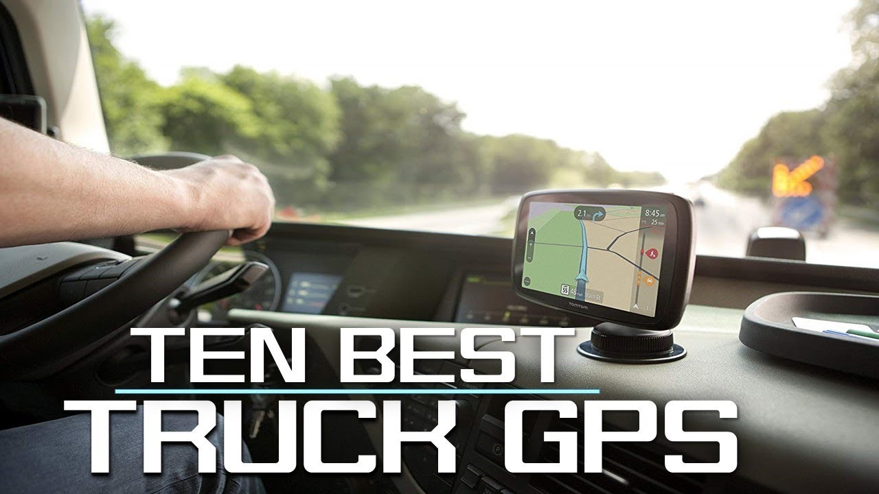 Best Gps For Truckers >> Best Gps 2019 For Truck Driver Youtube