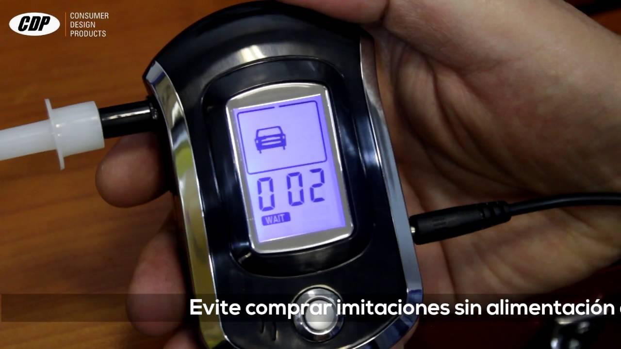 Digital Breath Alcohol Tester alcoholímetro portátil con pantalla LCD y de repuesto boquillas uso Personal Coche y moto Accesorios para coche