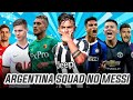 ARGENTINA SQUAD WITHOUT MESSI 2020